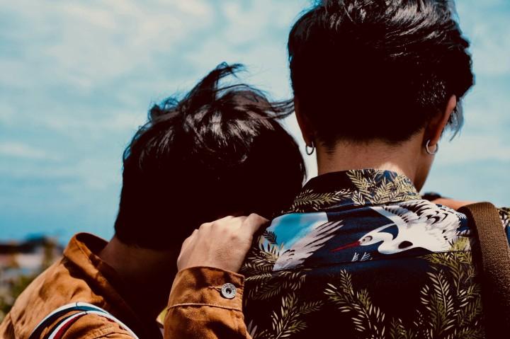 Two men love gay
