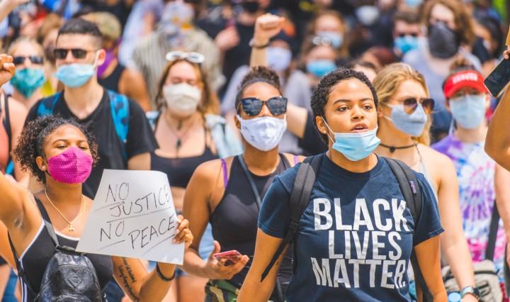 Black Lives Matter Protest. Image: Julian Wan via Unsplash