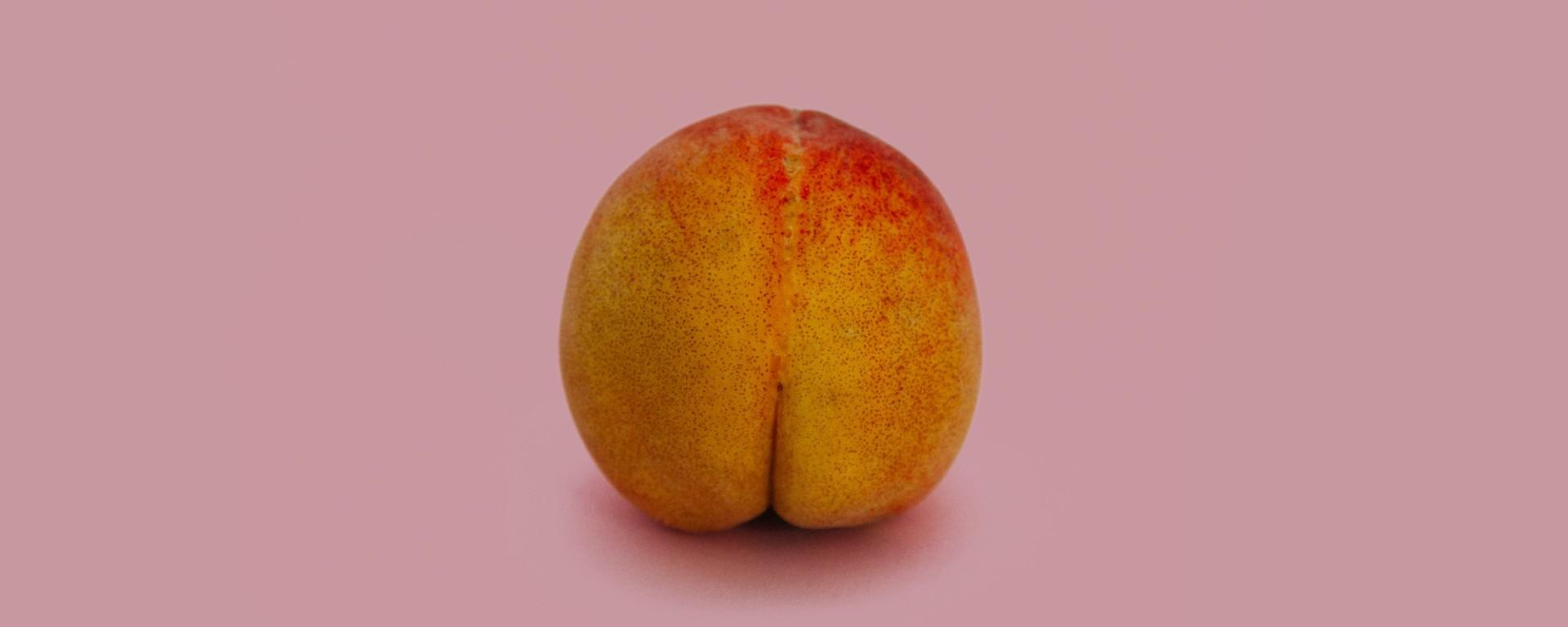 Peach Bum Butt Ass