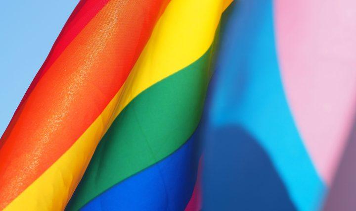 Rainbow and transgender flag. Image: Cecilie Johnsen on Unsplash
