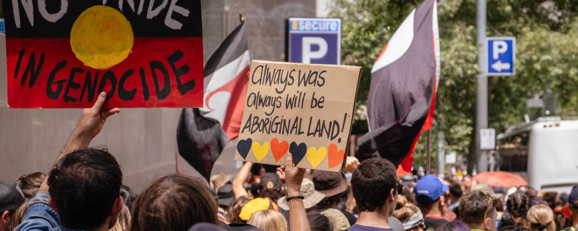 Aboriginal Invasion Day Reconciliation