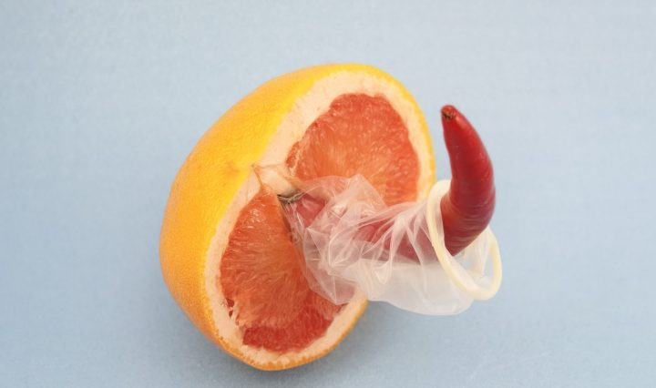 Safe sex fruit. Image: Dainis Graveris on SexualAlpha