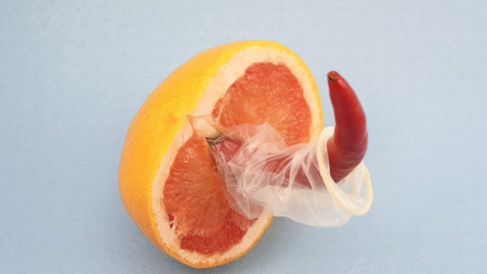 Safe sex fruit. Image: Dainis Graveris on Unsplash