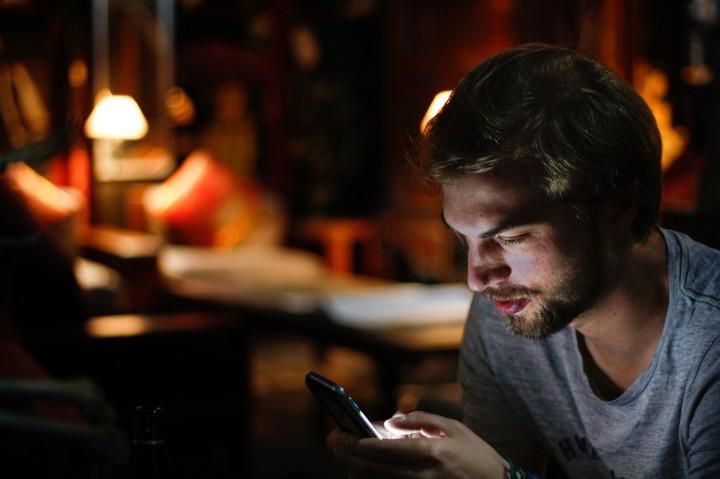 Man on smartphone. Image: Eddy Billard on Unsplash