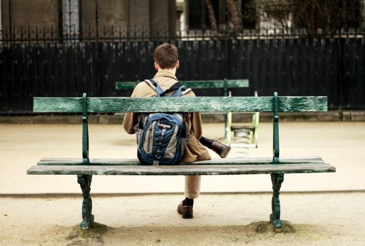 Man waiting for something. Image: Olya Kuzovkina on Unsplash