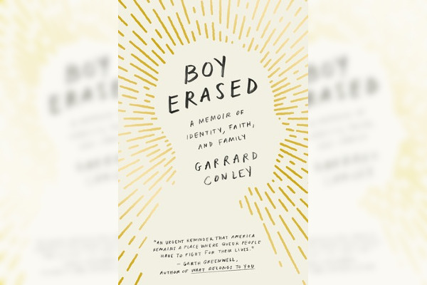 Boy Erased by Garrard Conley. Image via GoodReads