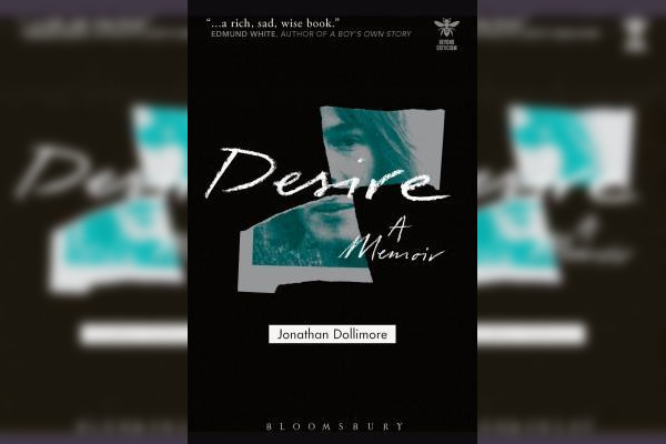 Desire: A Memoir by Jonathan Dollimore. Image: via GoodReads