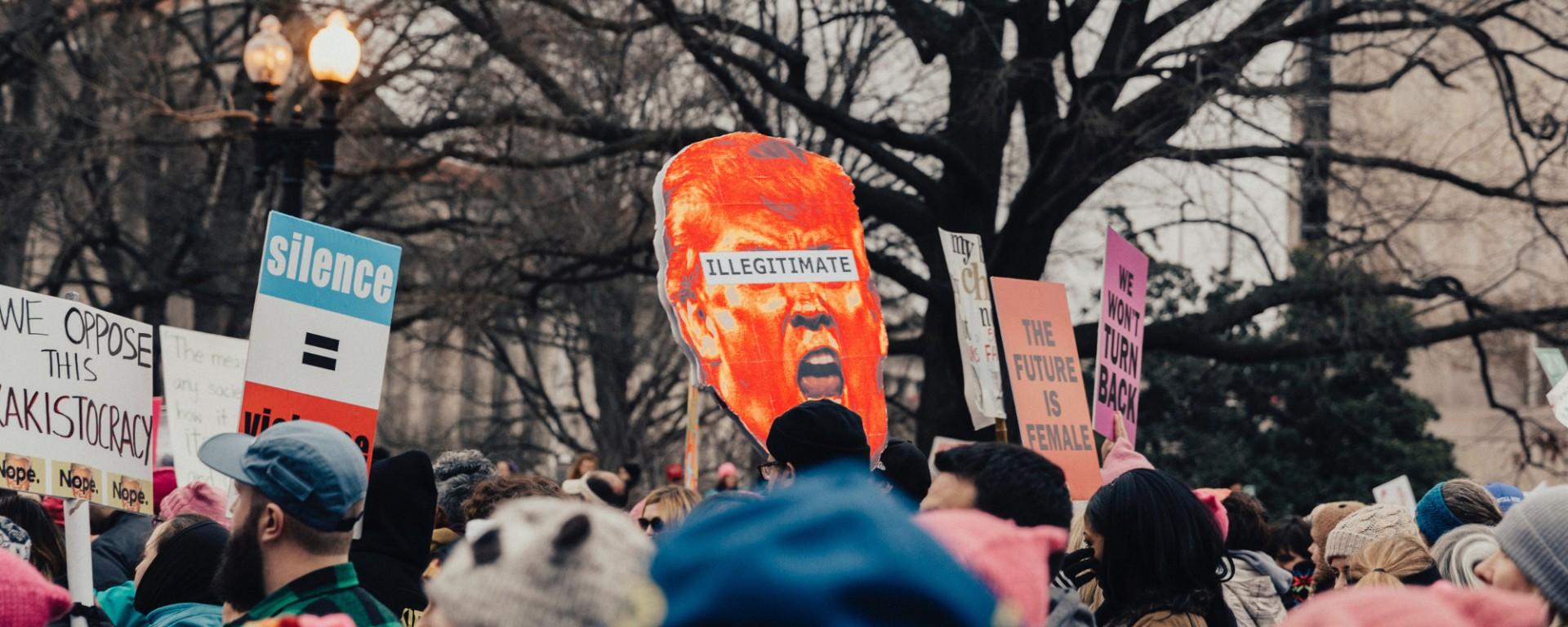 Donald Trump. Image: Roya Ann Miller on Unsplash