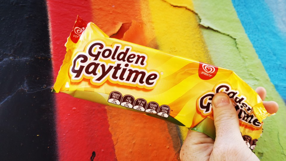 Golden Gaytime. Image: Christopher Kelly