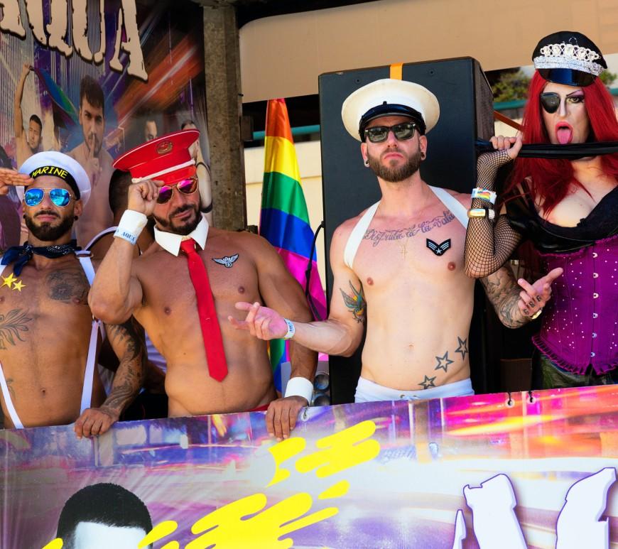 Gay, gay and gay. Image: Quino Al via Unsplash