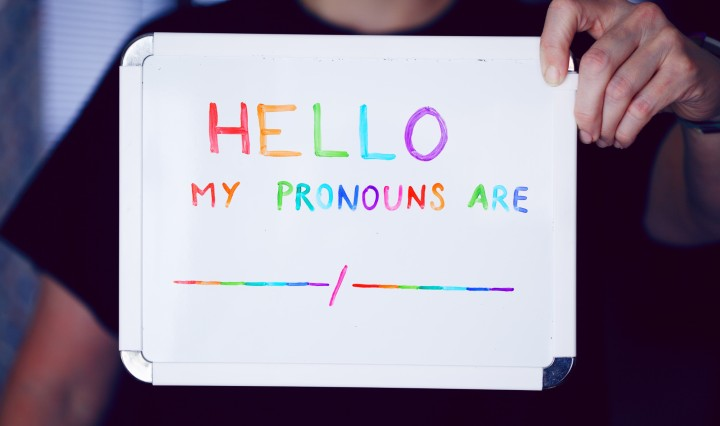 Pronouns. Image: Sharon McCutcheon via Unsplash