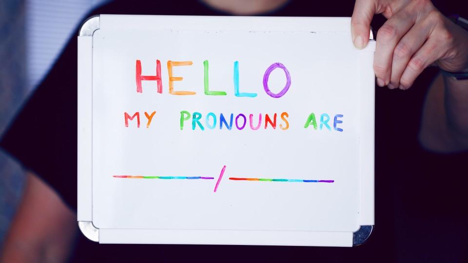 Pronouns. Image: Sharon McCutcheon via Unsplash