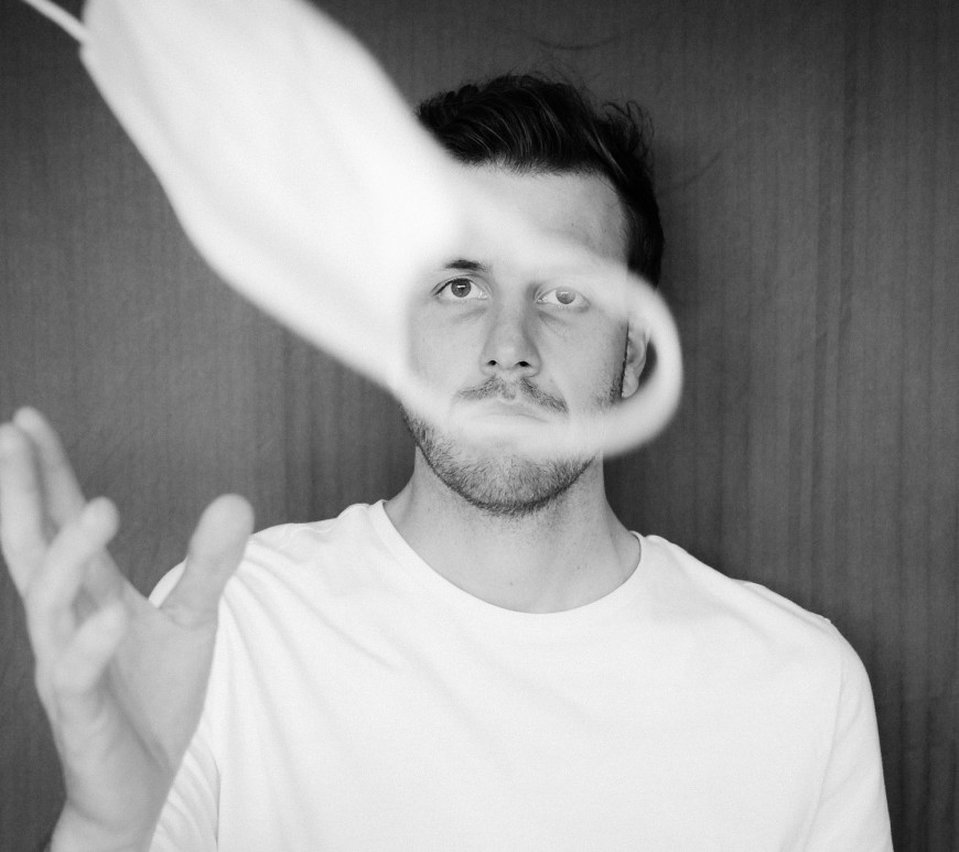 Throwing mask hope future covid-19. Image Dan Burton on Unsplash