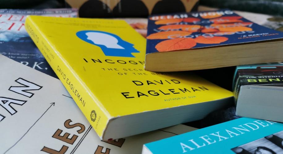 Chris' Books September 2021. Image: Christopher Kelly