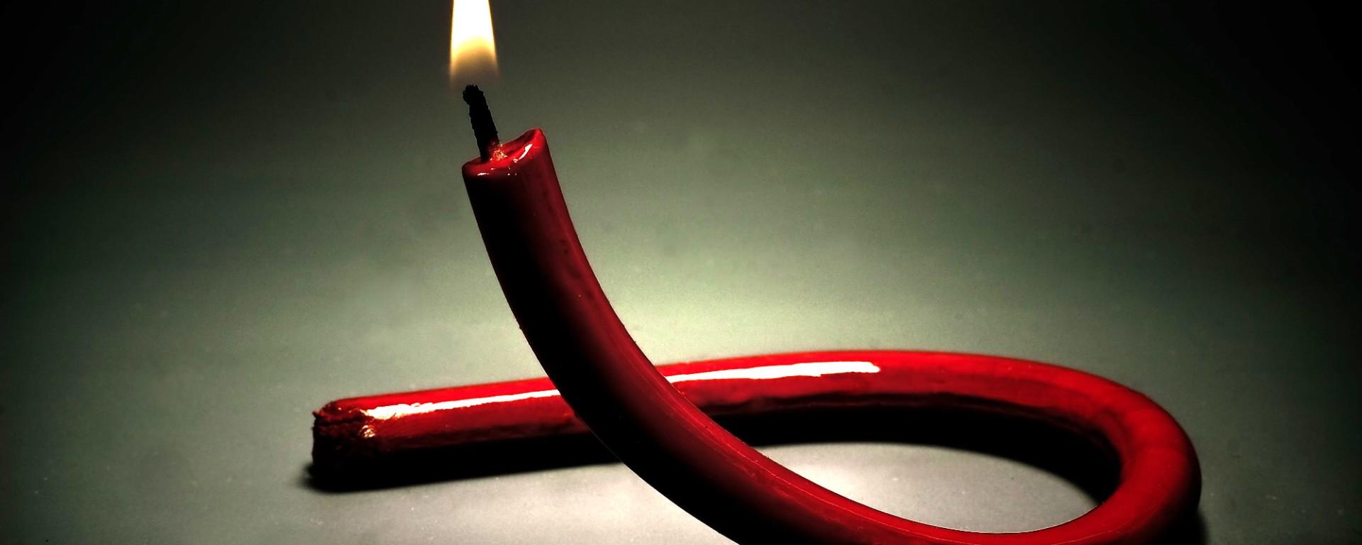 HIV Ribbon. Image Sergey Mikheev via Unsplash